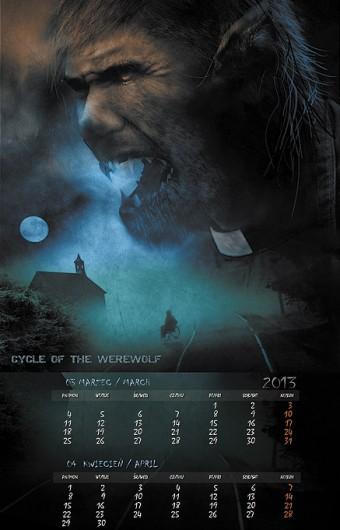 Kalendarz 2013 marzec kwiecień
