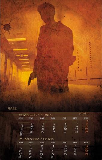 Kalendarz 2013 wrzesień październik
