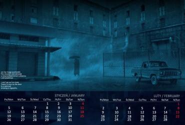 Kalendarz 2015 styczeń  luty