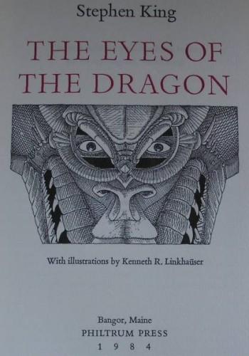 Oczy smoka – Kenneth R. Linkhauser – 1