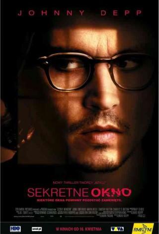 Sekretne okno (2004) – plakat