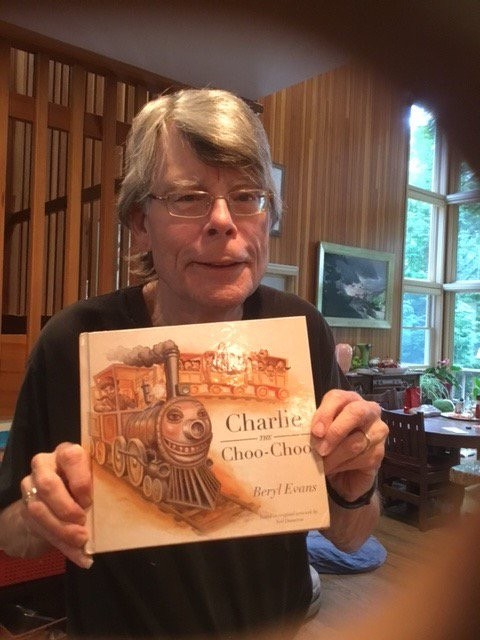 Stephen King – SDCC – Charlie Puf-Puf